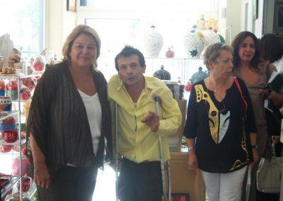 Επίσκεψη της Λούκας Κατσέλη στις εγκαταστάσεις μας