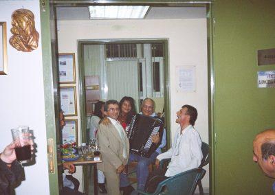 Γιορτή στα Γραφεία του Φορέα με τον Κώστα Σταματάκη και το Ακορντεόν του
