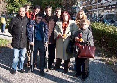 Αναμνηστική φωτογραφία με εκπροσώπους των Δήμων
