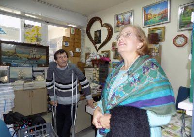 Επίσκεψη της Αθηνάς Καρδάση, εκπρόσωπος της εταιρείας P&G στις εγκαταστάσεις μας