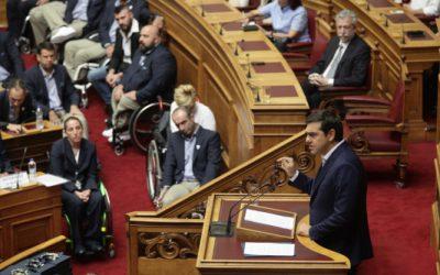 Δακρυσμένοι οι Παραολυμπιονίκες στη Βουλή – Κύριε πρωθυπουργέ μην μείνετε μόνο στις τιμές!!!
