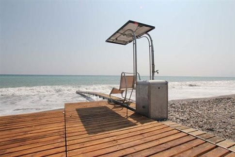 Πρόσβαση για ΑμεΑ σε παραλίες των δήμων Δίου-Ολύμπου και Κατερίνης