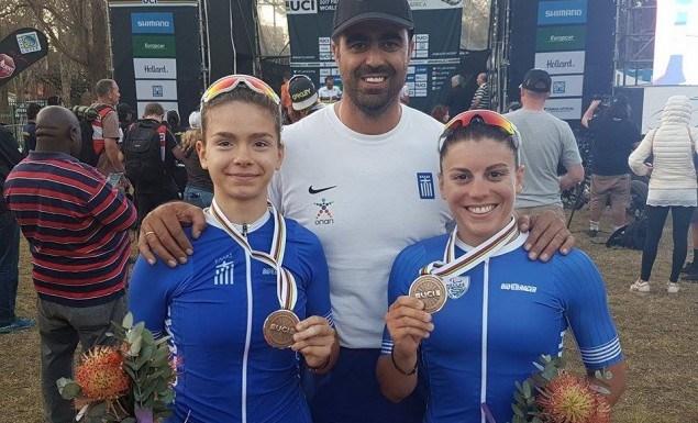 Θρίαμβος:Έγραψε ιστορία η ελληνική ποδηλασία στη Ν. Αφρική με το χάλκινο μετάλλιο των Καλατζή/Μηλάκη