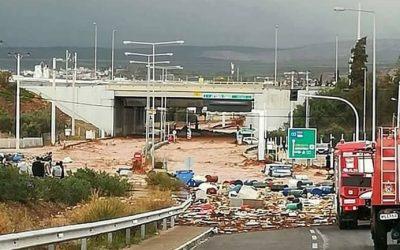 Εφιάλτης στη Μάνδρα! Πολλοί νεκροί και αγνοούμενοι από τις φονικές πλημμύρες!