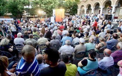 Ομιλία του Προέδρου του Ομίλου Ενεργών Πολιτών Αθήνα Πρωτεύουσα Ξανά Γ. Πατούλη στα Πετράλωνα