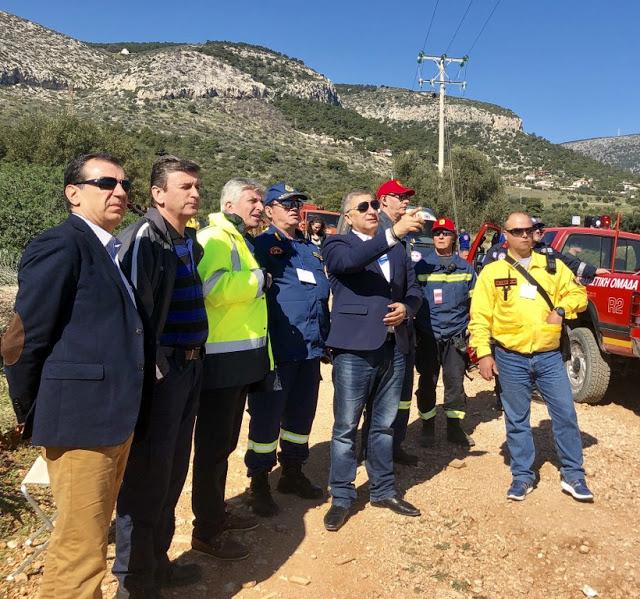 Με τη συμμετοχή του υποψήφιου Περιφερειάρχη Αττικής Γ. Πατούλη η διεξαγωγή άσκησης διαχείρισης Συνεπειών Σεισμού