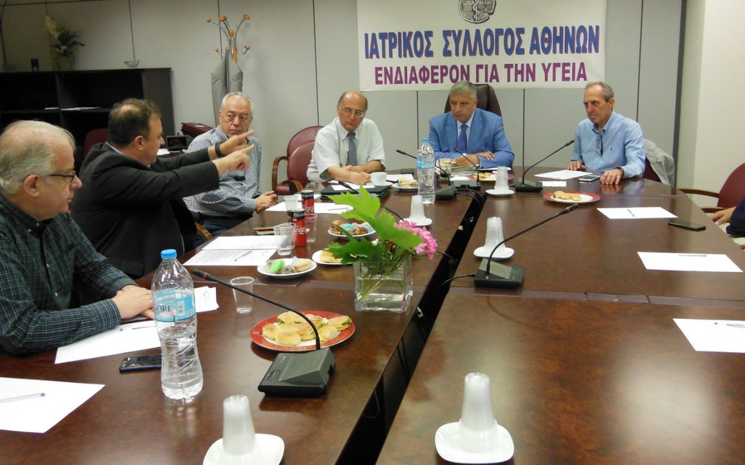 Συνάντηση ΙΣΑ-Συντονιστικού με τον εκπρόσωπο του τομέα Υγείας του ΚΙΝ.ΑΛ.
