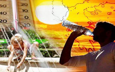 Έρχεται καύσωνας με ραγδαία άνοδο της θερμοκρασίας