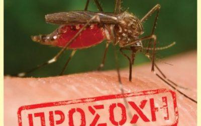 Ο ΙΣΑ εφιστά την προσοχή στα μέτρα προφύλαξης από τα κουνούπια