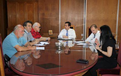 Συνάντηση Νότη Μηταράκη με αντιπροσωπεία της ΕΣΑμεΑ