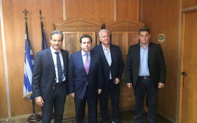 Πρώτη συνάντηση του Υφυπουργού Εργασίας, κ. Μηταράκη και του Εμπορικού Συλλόγου Αθηνών