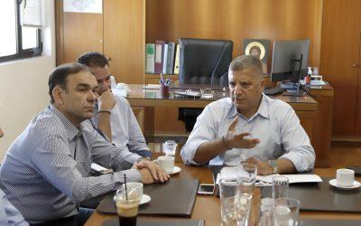 Στον ΕΔΣΝΑ ο Περιφερειάρχης Αττικής Γ. Πατούλης. Συνάντηση με τους Γενικούς Διευθυντές και τα υπηρεσιακά στελέχη