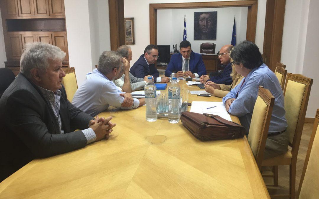 Δελτίο Τύπου: Συνάντηση συντονιστικού οργάνου φορέων ΠΦΥ με την ηγεσία του Υπουργείου Υγείας