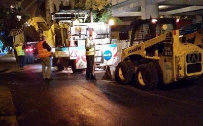 Δελτίο Τύπου Δ. Αθηναίων: Ασφαλτοστρώσεις σε 127 δρόμους όλης της πόλης