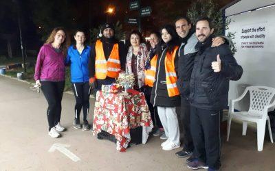 """Επίσκεψη του """"Συλλόγου Δρομέων Υγείας Αθήνας"""" στην έκθεσή μας στο Πεδίο του Άρεως"""