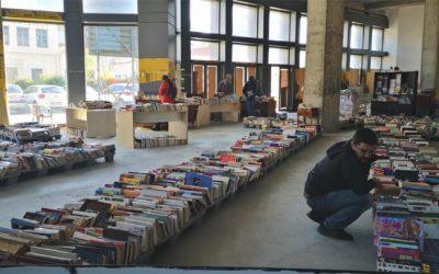 Το παλαιοβιβλιοπωλείο των αστέγων