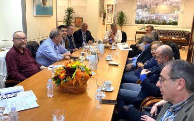 Ευρεία σύσκεψη του κ. Πατούλη με τους Διευθυντές και Προϊσταμένους των Υγειονομικών Υπηρεσιών της Περιφέρειας