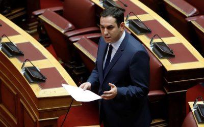 Το πρόβλημα των παρανόμων καύσεων στον Ασπρόπυργο, έφερε στην Βουλή ο Ε. Λιάκος