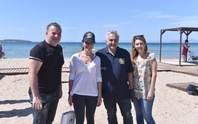 Επίσκεψη Υφυπουργού Εργασίας και Κοινωνικών Υποθέσεων στην παραλία ΑμεΑ Βούλας
