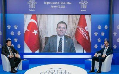 Συζήτηση Κ. Μπακογιάννη με Δήμαρχο Κωνσταντινούπολης: Να προστατέψουμε την Αγία Σοφία
