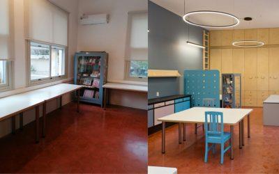 Ανανέωση για την αίθουσα δημιουργικής και καλλιτεχνικής απασχόλησης του Ασύλου Ανιάτων