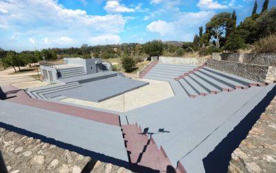 Έτοιμο να δεχθεί το κοινό το ανοικτό θέατρο του Μητροπολιτικού Πάρκου Αντώνης Τρίτσης