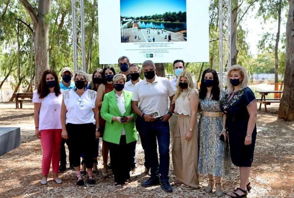 Ξεκίνησαν στο Μητροπολιτικό Πάρκο «Αντώνης Τρίτσης» τα έργα βιοκλιματικού σχεδιασμού και περιβαλλοντικής αναβάθμισης
