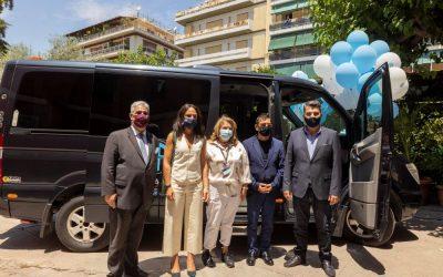 Ένα δεύτερο μικρό λεωφορείο απέκτησε με δωρεά το Άσυλο Ανιάτων