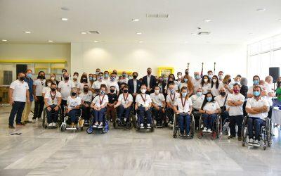 Ο Δήμος Αθηναίων τίμησε την Ελληνική Παραολυμπιακή Ομάδα