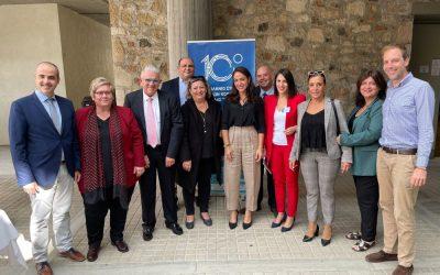 Η Δόμνα Μιχαηλίδου στο 10ο Συνέδριο «Επ' Αρωγή», στην Κρήτη