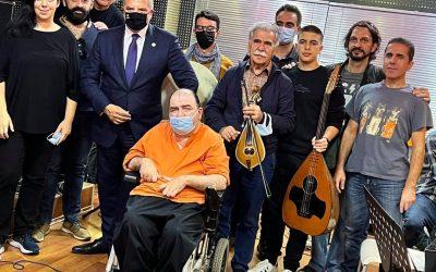 """Με μεγάλη επιτυχία η συναυλία που διοργανώθηκε στο """"Ηρώδειο"""" από τον Πανελλήνιο Σύλλογο Παραπληγικών"""